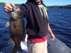Trophy Bass caught by guide, Kevin!